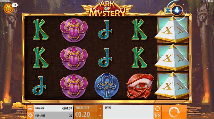 Spil Ark of Mystery hos Maria casino