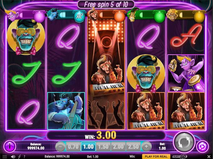 Spil Banana Rock spilleautomaten hos Unibet Casino
