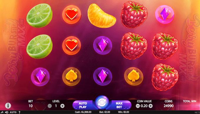 Spil Berryburst hos Goliath Casino