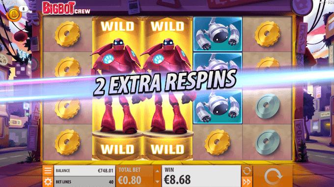 Spil Big Bot Crew hos Vera&John casino