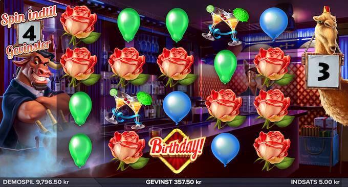 Prøv Birthday! hos Vera&John casino