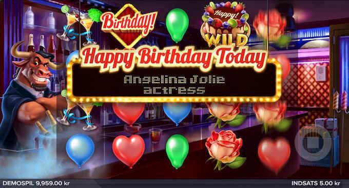 Spil Birthday! hos Mr Green