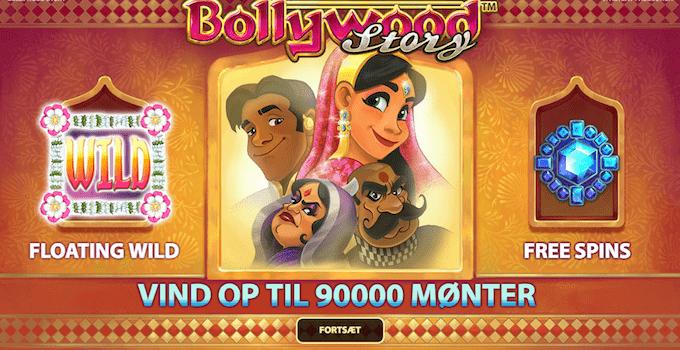 Spil Bollywood Story hos Goliath Casino