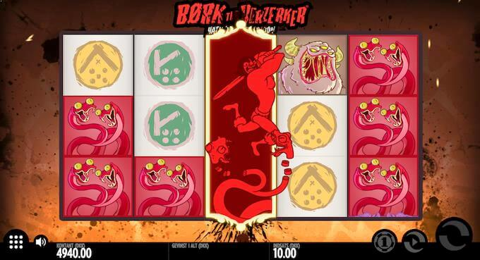 Spil Børk The Berzerker hos Mr Green