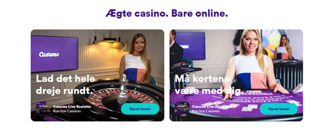 Spil online casino hos Casumo