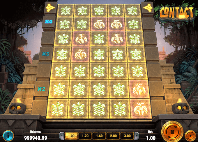 Spil på Contact spilleautomaten hos LeoVegas