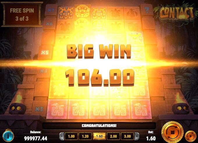 Spil på Contact fra Play'n Go hos Goliath Casino