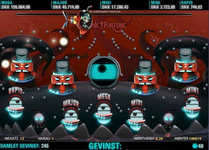 Spil Cosmic Fortune ved LeoVegas