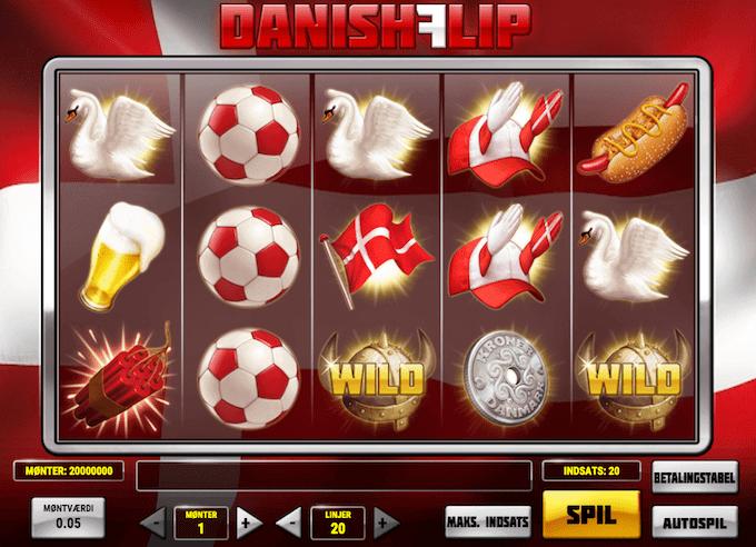 Danish Flip er en spillemaskine inspireret af Danmark og danske værdier
