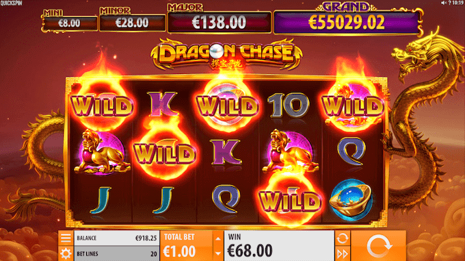 Dragon Chase Wildfire
