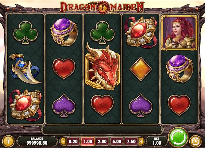 Spil Dragon Maiden hos Goliath Casino