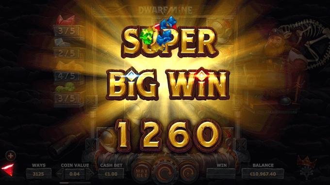 Spil Dwarfs Mine hos 888 Casino