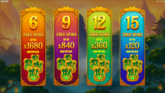 Spil Eastern Emeralds hos Maria Casino