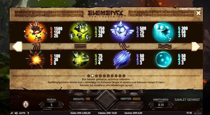 Spil Elements: The Awakening hos Mr Green