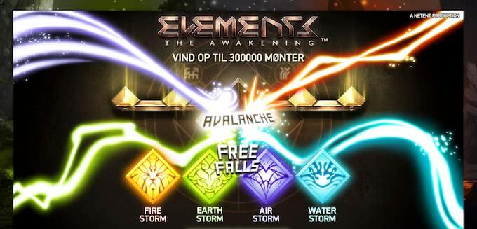 Spil Elements: The Awakening hos LeoVegas