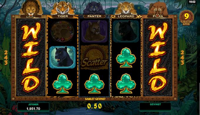 Spil Exotic Cats hos LeoVegas Casino