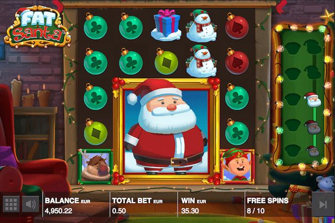 Spil Fat Santa hos Unibet Casino