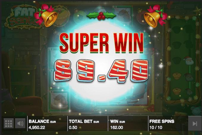 Spil Fat Santa hos Maria Casino
