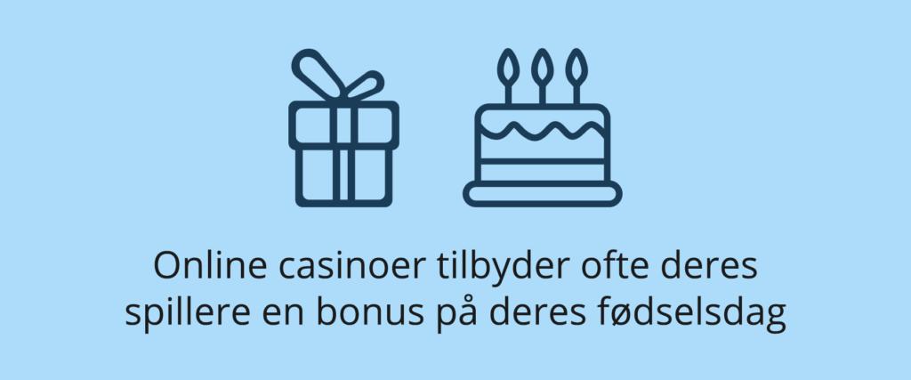bonus på din fødselsdag