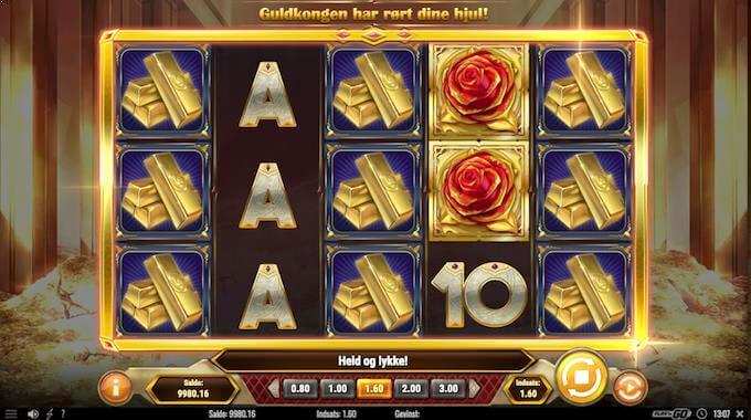 Spil Gold King hos LeoVegas