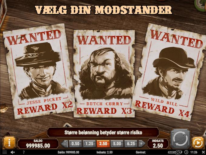 Spil Gunslinger: Reloaded hos Dansk777