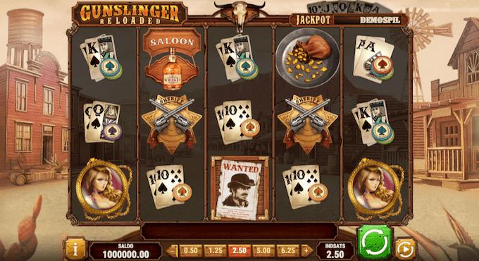 Spil Gunslinger: Reloaded hos Goliath Casino