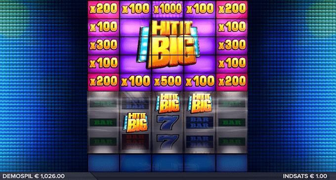 Spil Hit It Big hos Maria Casino