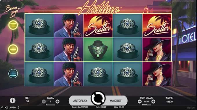 Spil Hotline spilleautomaten hos LeoVegas
