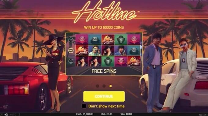 Spil Hotline hos LeoVegas