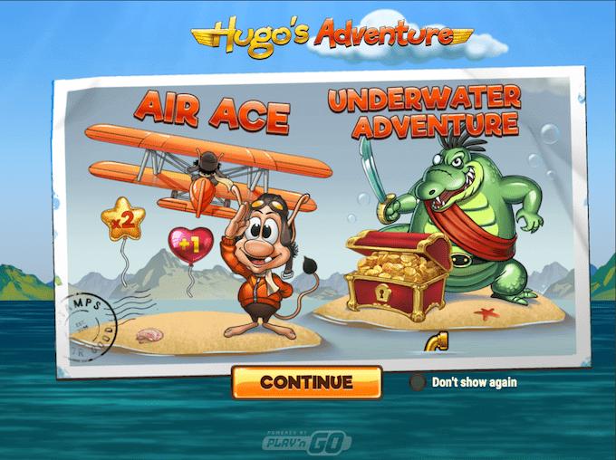 Hugo's Adventure er produceret af Play'n GO