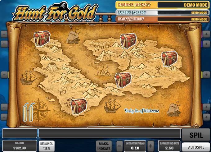 Spil Hunt For Gold ved Betsafe