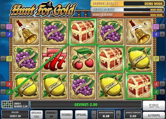 Spil Hunt For Gold hos NordicBet