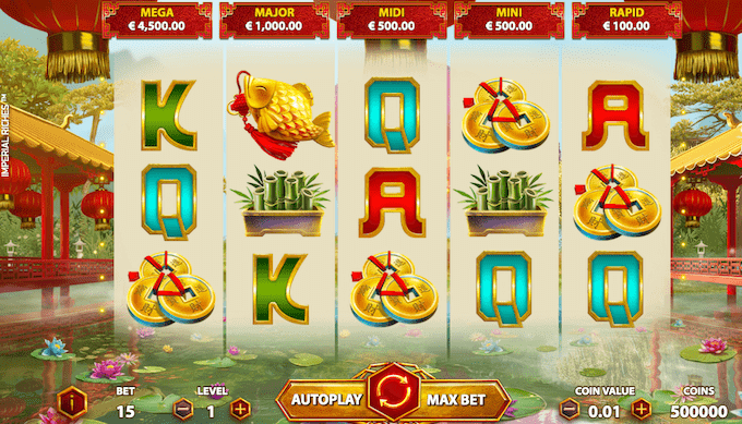Imperial Riches er et nyt jackpotspil fra NetEnt
