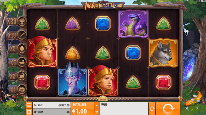 Spil Ivan and the Immortal King hos Mr Green Casino