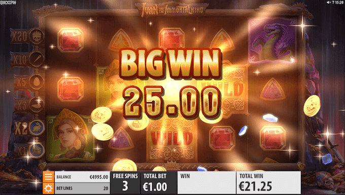 Spil Ivan and the Immortal King hos Unibet Casino