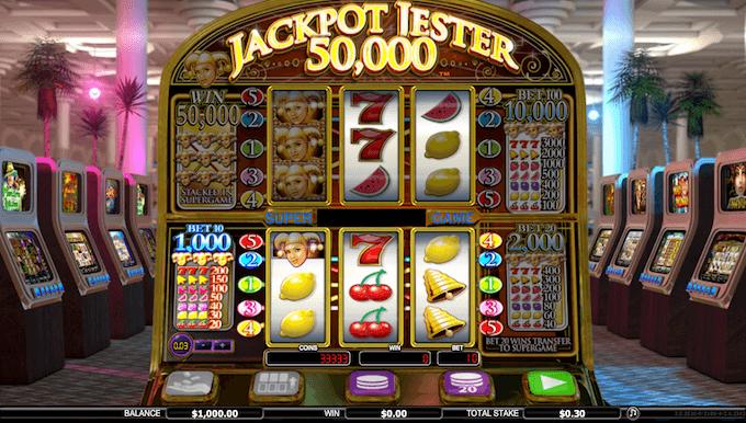 Prøv Jackpot Jester 50,000 her