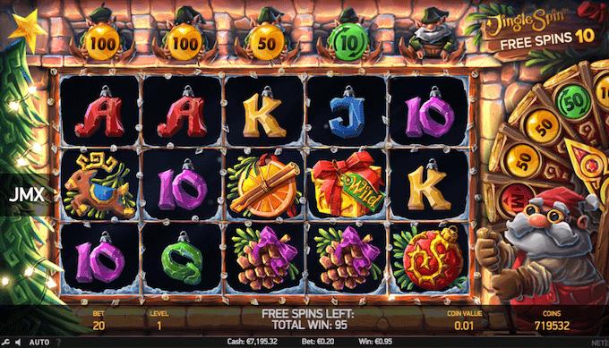 Spil Jingle Spin hos Goliath Casino