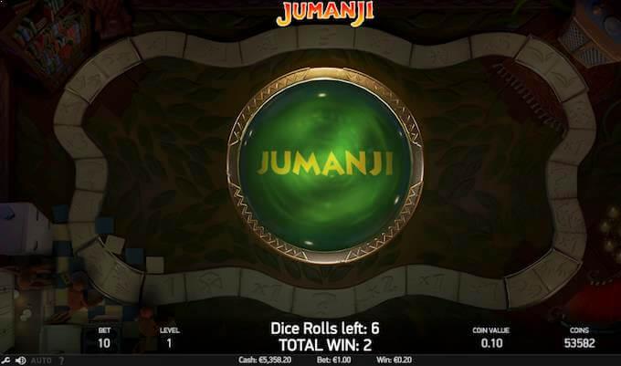 Spil Jumanji ved Goliath casino