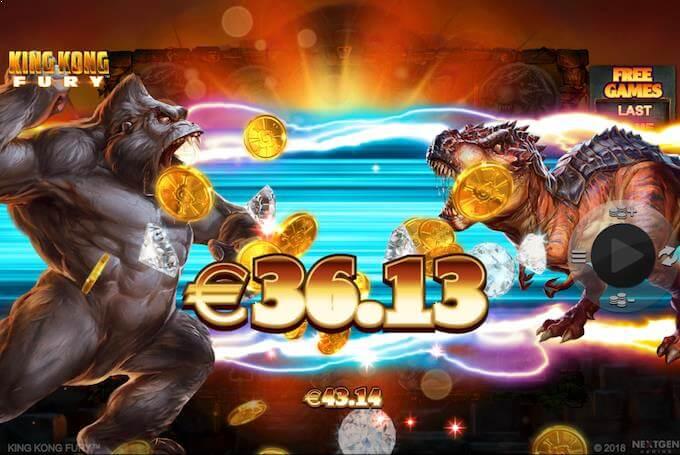 Spil King Kong Fury