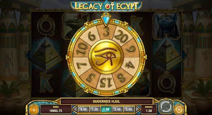 Spil Legacy of Egypt på Karamba