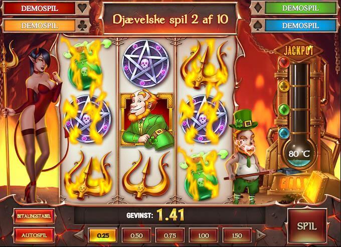 Spil Leprechaun Goes to Hell hos Unibet