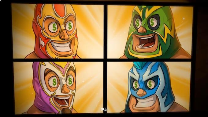 Spil Lucha Maniacs her