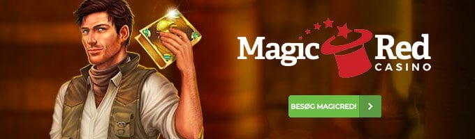 Spil online casino hos MagicRed Casino