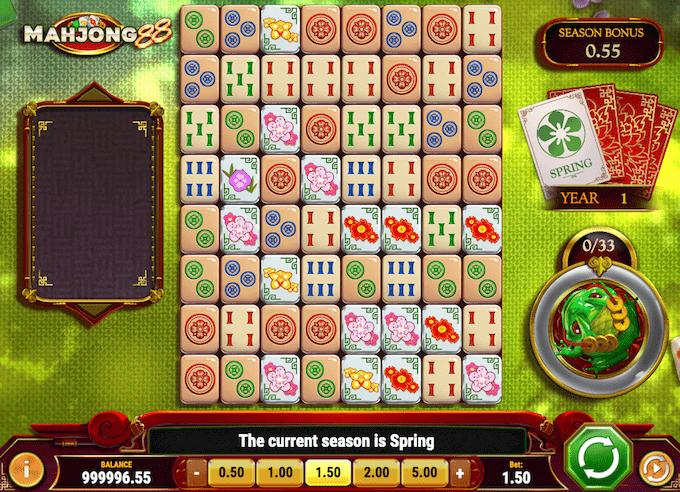 Prøv Mahjong 88 hos Dansk777