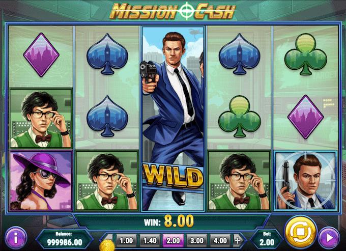 Mission Cash er udgivet af Play'n GO