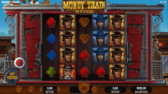 Køb dig til free spins i Money Train