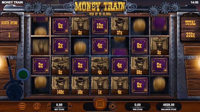 Vind op til 20.000x din indsats i Money Train spillemaskinen