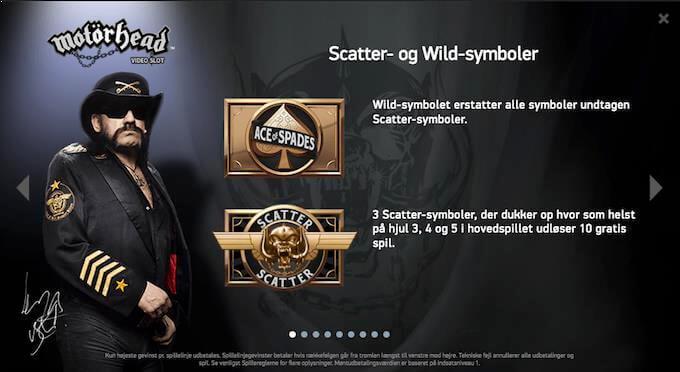 Prøv Motörhead spilleautomaten hos LeoVegas