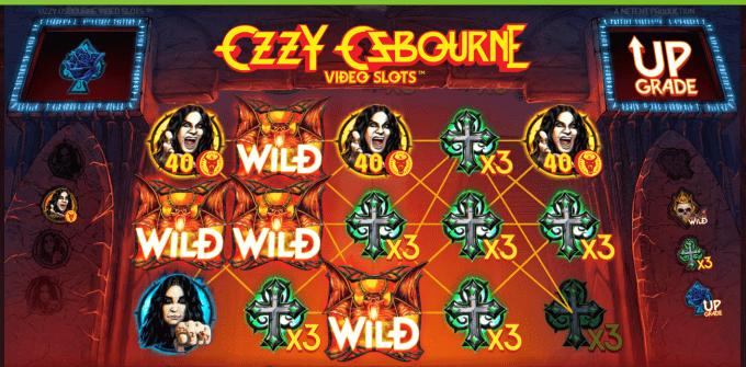 Ozzy Osbourne Video Slot er produceret af NetEnt