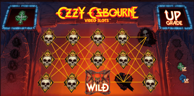 Ozzy Osbourne fungerer med re-spins og free spins
